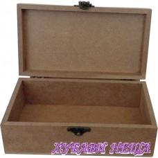 Кутия от MDF 6мм- 18x10x6см