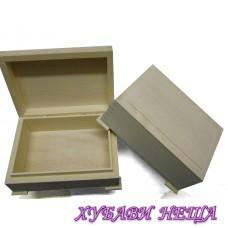 Дървена кутия- 14x10x5см.