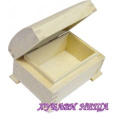 Дървена кутия- 11x8x6см.