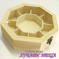 Кутия със стъклен капак- W020VJ