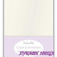 DCCE005 К-кт заготовки за картички с пликове-Перла 13x18см 8бр