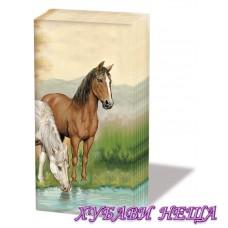 Салфетка- 0364 Horses
