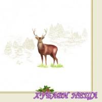 Салфетка- 1604 Deer