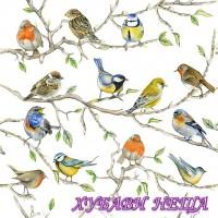 Салфетка за декупаж- 383 Среща на Птиците