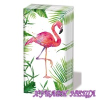 Салфетка- 0408 Tropical Flamingo