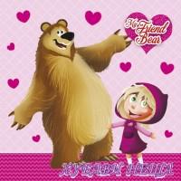 Салфетка- 083 My Friend Bear 1бр