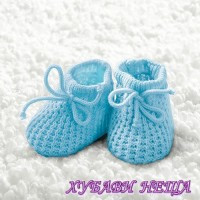 Салфетка- 1860 Baby Boy Booties