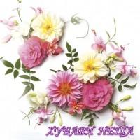 Салфетка- 0151 Delicate Flowers