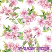 Салфетка- 0167 Черешов цвят розово