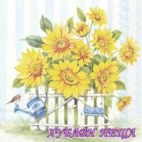 Салфетка- 365A Sunflower Garden