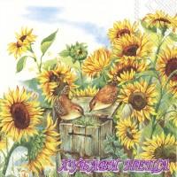 Салфетка- 0634 Nosy Little Birds
