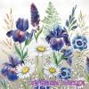 Салфетка- 745 Mixed Meadow Flowers