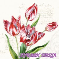 Салфетка- 1017 Classic Tulips