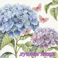 Салфетка- 1129 Gentle hydrangea