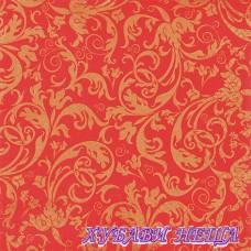 Салфетка за декупаж- 540 Арабски червено/злато