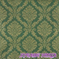 Салфетка- 1045 Елегантно тъмно зелено/златисто