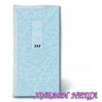 Салфетка- 1203 TT Moments ornament pastel blue