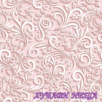 Салфетка- 1378 Classic 3D Dove pink