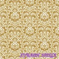 Салфетки за декупаж- 1633A Тапетна Шарка злато