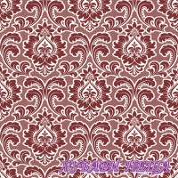 Салфетка- 1633 Wallpaper Pattern claret