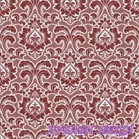 Салфетка- 1633 Wallpaper Pattern claret