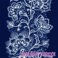 Салфетка- 1851 White Lace navy