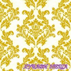 Салфетка- R0028 Wallpaper cream & gold