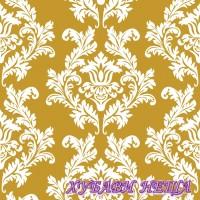 Салфетка- R0029 Wallpaper white & gold