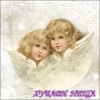 Салфетка за декупаж- K004 Ангели