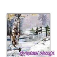 Салфетка- K012 Зимно време е