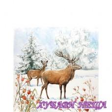 Салфетка- K068A Елен в Снега