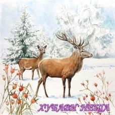 Салфетка- K068 Елен в Снега