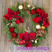 Салфетка- K148 Traditional Wreath