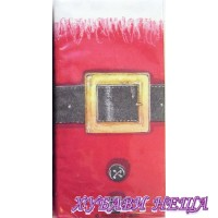 Салфетка- Колана на Дядо Коледа, 21.5 x 22 см
