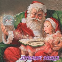 Салфетка- K294 A Christmas carol