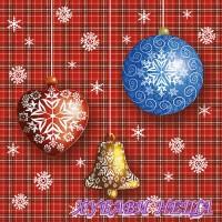 Салфетка- K381 Коледно Празнуване