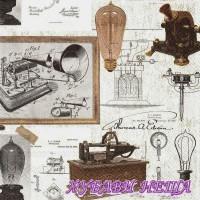 Салфетка- 336 Thomas A. Edison
