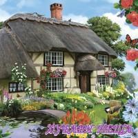 Салфетка- Селска къща 109