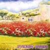 Салфетка- 0224 Макова градина