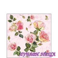 Салфетка- 0101 Rosie rose