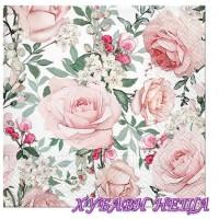 Салфетка- 317 Разкошни рози