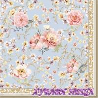Салфетка за декупаж- 478 Величествени Цветя
