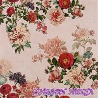 Салфетка- 610 Elisabeth rose