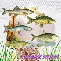 Салфетка- 366 Fish Portrait