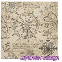 Салфетка- 1442 Картография