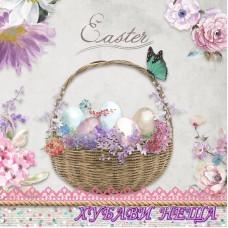 Салфетка- V019 Pastel Easter