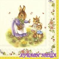 Салфетка- V024 Spring Fantasy Easter