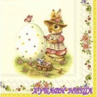 Салфетка- V024A Spring Fantasy Egg