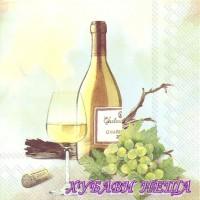 Салфетка- 095 A Good Wine