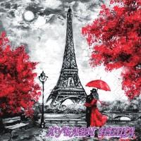 Салфетка- 0650 Любов в Париж